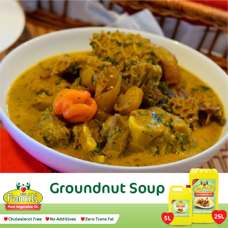 Groundnut Soup Recipe